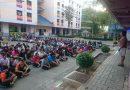ประชุมนักศึกษาหอพักชี้แจงเรื่องแนวปฏิบัติการเข้าพักอาศัยในช่วงปิดภาคเรียนที่ 2/2560